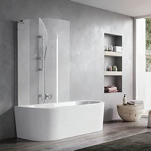pare baignoire volets coulissants volga jacuzzi espace With porte de douche coulissante avec petite salle de bain baignoire ilot