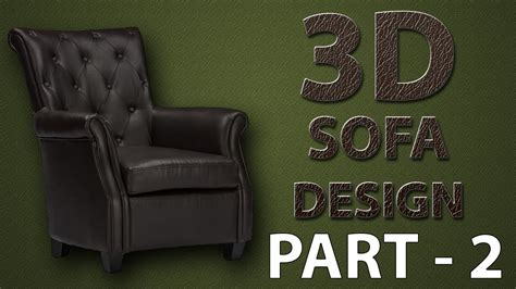 Divano Chesterfield 3ds Max : Tutorials 3ds Max Modeling Chesterfield Sofa In 3ds Max