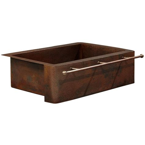 home depot farm sink sinkology rodin farmhouse apron front handmade pure solid