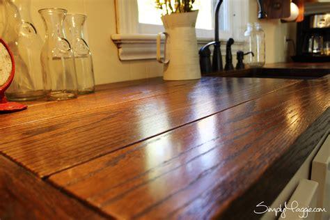 diy wide plank butcher block counter tops simplymaggie diy wide plank butcher block counter tops simplymaggie