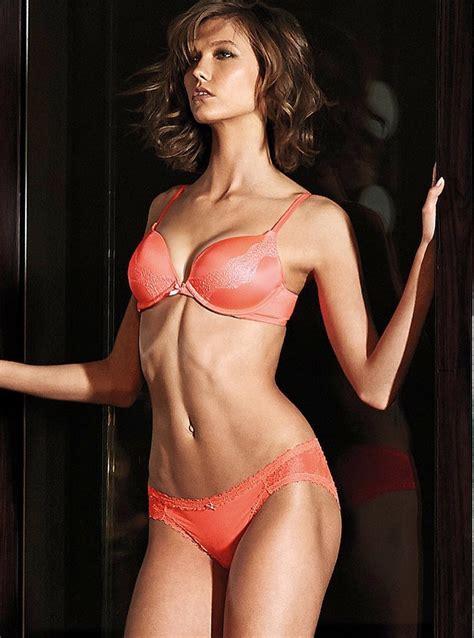 karlie kloss  victorias secret lingerie