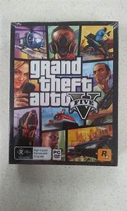 Grand Theft Auto GTA V 5 Five PC Game Brand New Sealed