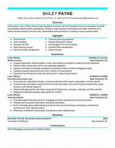 best loan officer resume example livecareer With how to make a resume for a business loan