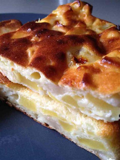 et sa cuisine legere gâteau léger pommes bananes fromage blanc comme un flan