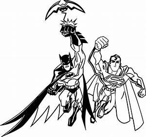 Cartoon Superman Flying Coloring Page - Superman Cartoon ...