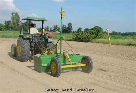 laser land leveler general technical information