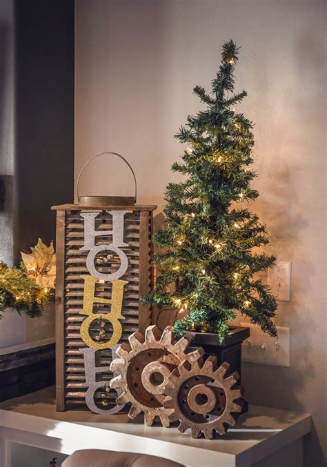 magnificent industrial christmas decorations