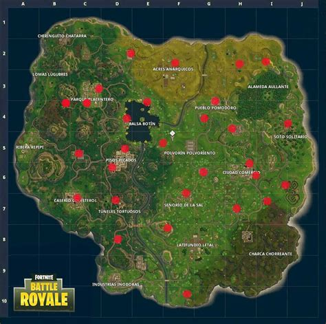 localizacion maquinas expendedoras fortnite battle royale