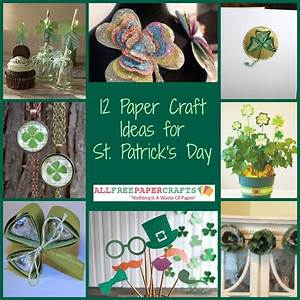 12 Paper Craft Ideas for St Patrick's Day