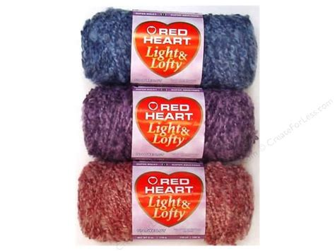 red heart light and lofty red heart light lofty yarn createforless