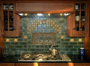 Glazed Tile Backsplash