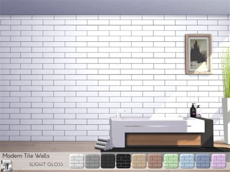 sims resource modern tile walls  torque sims