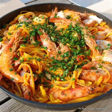 cuisine du poisson fideuà valenciana du beau du bon du bonheur