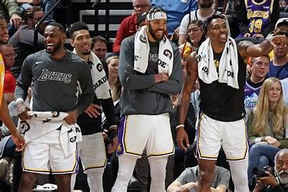 Lakers Howard Javale Dwight Mcgee Lebron James