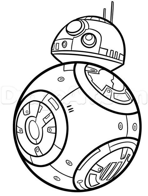 bb star wars coloring pages coloring pages