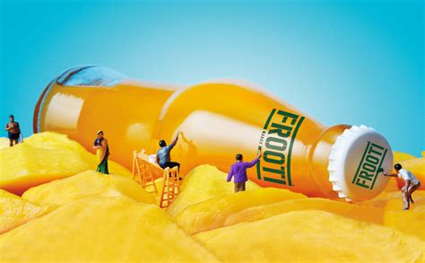 sagmeister walsh refreshes frooti mango juice campaign