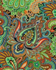Psychedelic Paisley Patterns