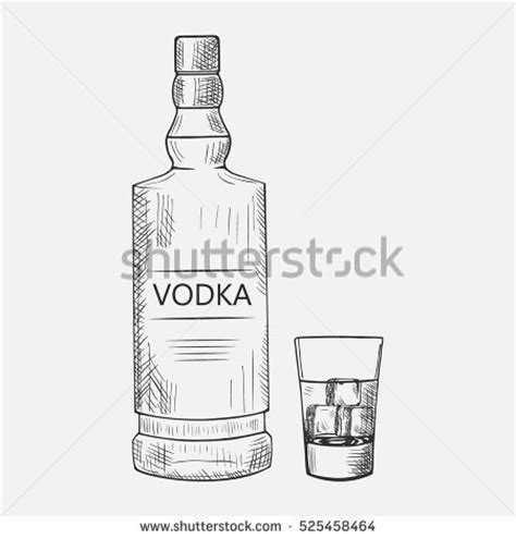 Coloring Vodka by Drawings In Pencil Pictures To Pin On