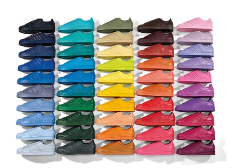 All One Color by Adidas Originals X Pharrell Supercolor Superstar Pack