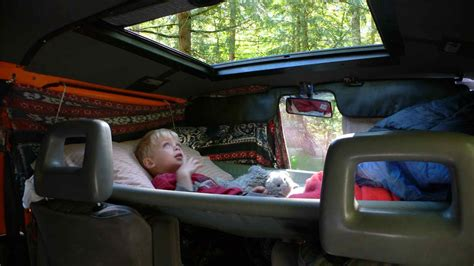 Car Hammock Diy by Hammock Driver S And Passenger S Seats Cer