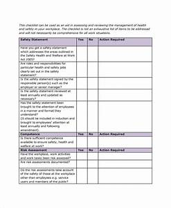 workplace safety inspection checklist template 28 images With office inspection checklist template