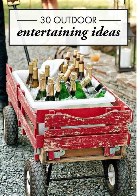 Entertaining Ideas by 30 Creative Outdoor Entertaining Ideas For The Ultimate