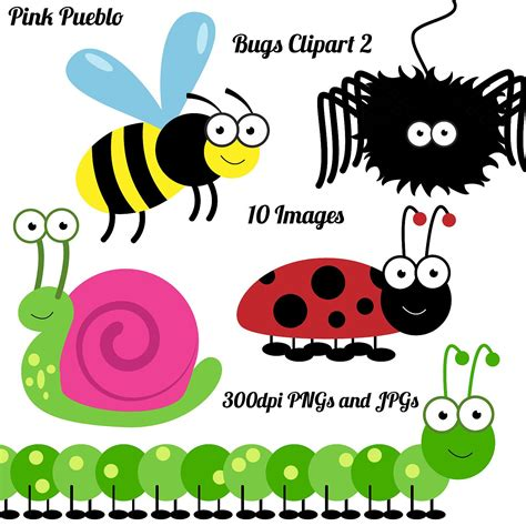 Insect Clipart Bugs Clipart Clip Insects Clipart Clip Bugs By