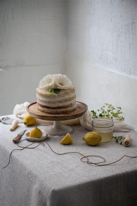 lemon  parsnip cake  elderflower lemon syrup