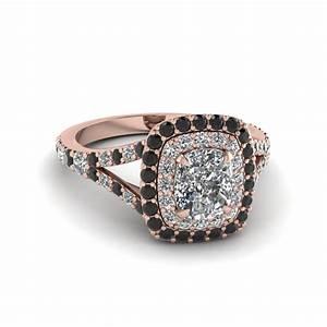 Launching Black Diamond Halo Engagement Rings ...