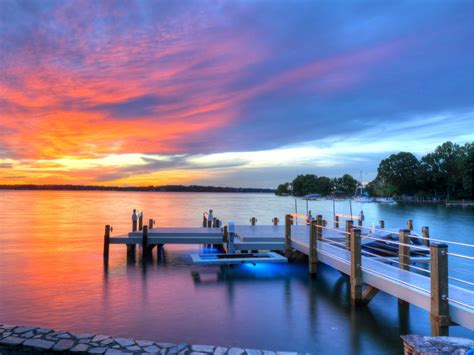 Boat Lifts For Sale Lake Norman by Custom Docks Lake Norman Custom Docks From Lancaster Dock