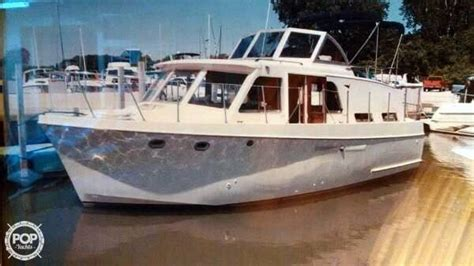 Hatteras Boats For Sale Ohio by 1965 Used Hatteras 34 Cabin Cruiser Boat For Sale