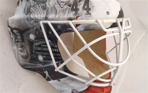 Scott Darling's Winter Classic Goalie Mask Honors The