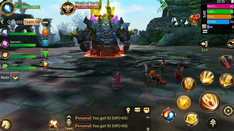 Era Of Legends Is A New Mobile Mmo For Android Devices