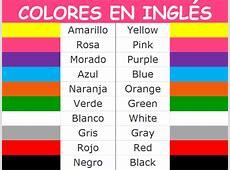 Colores en Inglés y con imágenes > Guía fácil de estudio【2019】