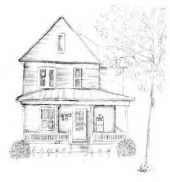 Beautiful Simple House Sketch by Colonial Fashion Coloring Pages Coloring Pages