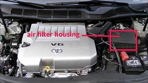 Toyota Avalon Questions - How Do I Change The Engine Air Cleaner