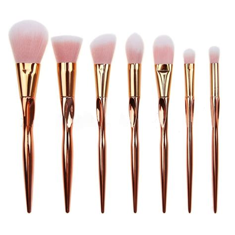 7 makeup brush set synthetic hair 2016 7 pcs makeup brushes set synthetic hair techniqueing