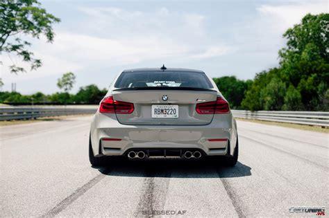 stance bmw   rear view