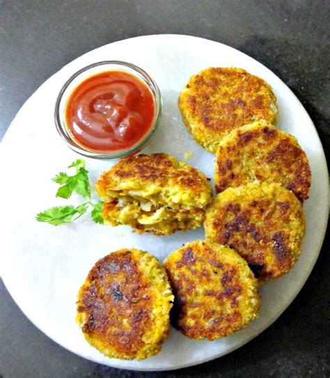 noodles cutlet easy kids snack recipe the veggie