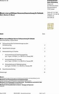 Rechnung Honorar Vorlage : muster einer pr ff higen honorarschlussrechnung f r geb ude rae a morlock k meurer pdf ~ Themetempest.com Abrechnung
