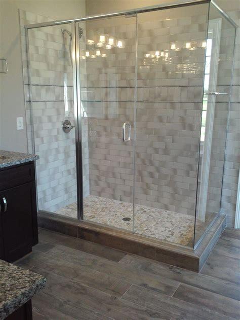Badideen Fliesen Holzoptik by Master Bath Weathered Wood Look Tile Floor Gray Subway