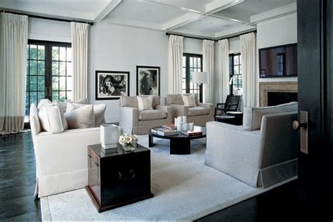 10 Living Room Design Projects By Kelly Hoppen