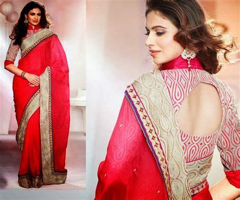 saree blouse  neck designs   blouse neckline