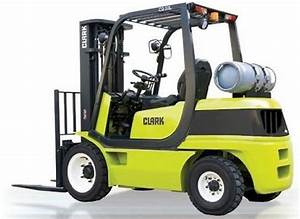 Clark Cq20  25  30 D  L Forklift Service Repair Workshop