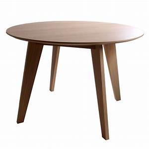 Table Ronde Scandinave Extensible : table ronde design scandinave brin d 39 ouest ~ Melissatoandfro.com Idées de Décoration