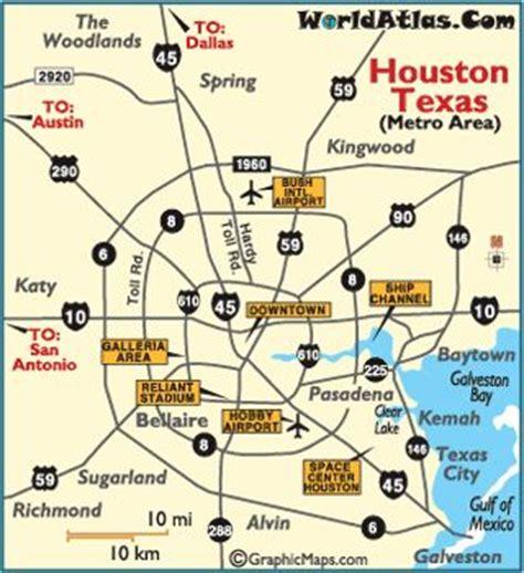 houston texas city map maps houston texas