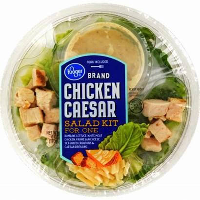 Kroger Salad Caesar Chicken Oz Hover