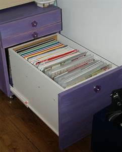 Meuble Pour Ranger Les Papiers : ranger ses papiers dans des dossiers suspendus tidy scraproom ~ Teatrodelosmanantiales.com Idées de Décoration