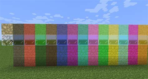 minecraft color id colored glass sand sandstone mod v1 5 minecraft mod