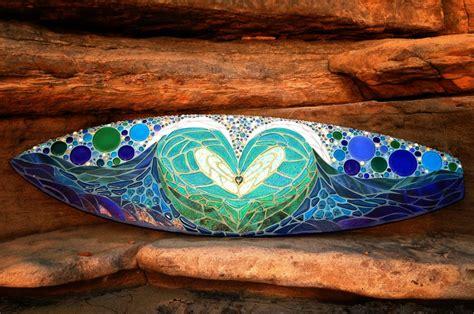 mosaic glass surfboards cherrie laporte
